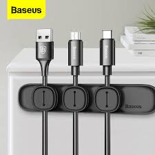 <b>Baseus Magnetic</b> Cable Organizer USB Cable Management Winder ...