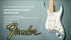 <b>Fender American Professional Stratocaster</b> (Обзор) - YouTube