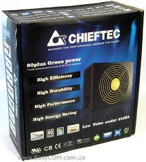 Обзор <b>блока питания CHIEFTEC GPS</b>-650AB A, Страница 1 ...