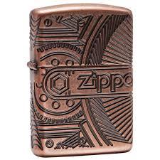 <b>Бензиновая зажигалка</b> Zippo <b>Armor</b>™ <b>Gears</b> 29523: продажа ...