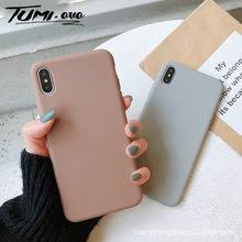 Best value Phone Cases <b>Solid Color Candy Tpu</b> Case for Samsung ...