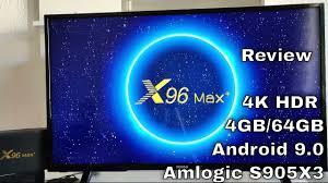 <b>X96 Max Plus</b> TV BOX Android 9.0 Amlogic S905X3 4GB 32GB ...