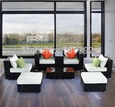 2015 hot sale outsunny 8pcs resin wicker garden li cheap plastic patio furniture