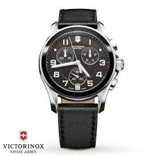Victorinox Swiss Army <b>Chrono</b> Classic Black Ceramic Bezel <b>Mens</b> ...