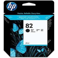 Genuine OEM <b>HP 82 Black</b> Ink Cartridge 69ml CH565A for <b>HP</b> ...