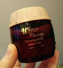 [Review] Holika <b>Holika Wine Therapy Sleeping</b> Mask | Red Wine ...