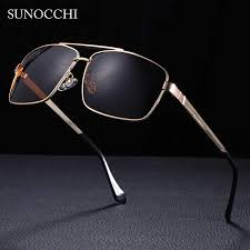 Fashion <b>Sunglasses men</b> Square sun <b>Glasses</b> Brand Designer ...
