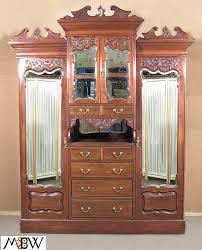 armoire 3 antique english antique english mahogany armoire furniture