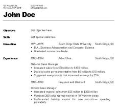 resume template  resume format typ  resume exploration    resume template  increased sales resume format types experience and education skills  resume format types