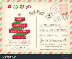 vintage merry christmas holiday postcard background stock vector vintage merry christmas holiday postcard background vector template for party greeting card