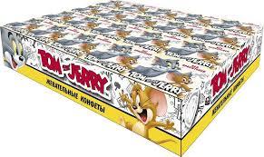 Жевательные <b>конфеты Tom and Jerry</b> Дыня, 40 шт по 11,5 г ...