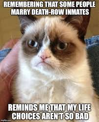 It could be worse. | GRUMPY | Pinterest | Grumpy Cat and Cat via Relatably.com
