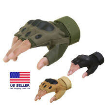 tactical <b>half finger gloves</b> products for sale | eBay