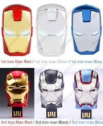 Online Shop HOT Gold Avengers Iron Man Hand <b>Real</b> Capacity 8GB ...