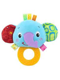 Buy <b>Happy Monkey Baby</b> Hand Bell Teether Cute Animal Plush <b>Toy</b> ...