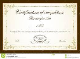 doc certificate designs certificate templates certificate templates for of completion formats excel word certificate designs