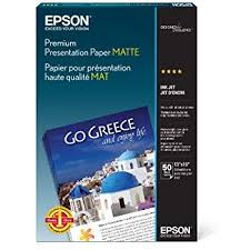 Genuine <b>Epson</b> S041289 13x19 Premium <b>Glossy</b> photo <b>paper</b> ...