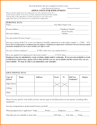 14 job application blank form ledger paper printable blank employment application forms