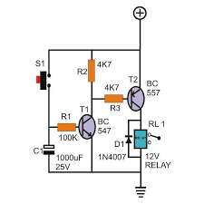 timer circuit diagram ireleast info on delay timer circuit diagram on auto wiring diagram schematic wiring circuit