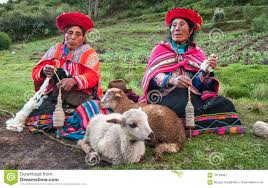 Image result for peruvian indians spinning