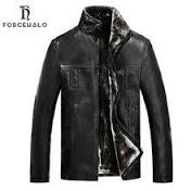 2016 Fashion Winter <b>Men Leather Jacket</b> Plus Velvet Motorcycle ...