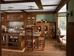 kitchen american craftsman style