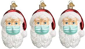 Santa Claus Christmas Ornaments - Amazon.com
