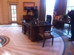 former president george w bush r speaks as former bush library oval office