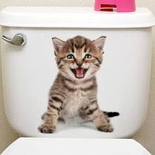Various Cute Kitten <b>Animal</b> Cartoon Cat Wall <b>Sticker</b> 3D Vivid Baby ...