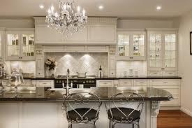beautiful white kitchen cabinets: glamour white kitchen cabinet with beautiful sharp lighting