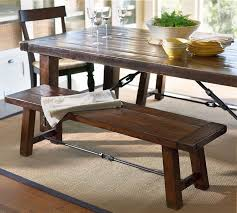 thick solid wood dining