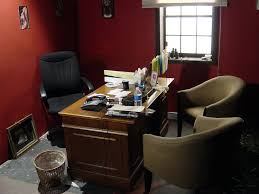 nice red home office wall colors appealing decorating office decoration