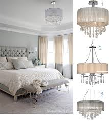 bedroom crystal chandeliers
