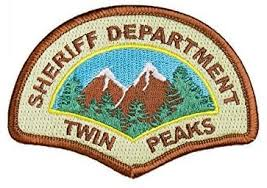 Twin Peaks Sheriff Department Iron On Police Patch ... - Amazon.com