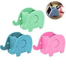 3 Pcs Cute Elephant Holder Cell Phone Stand, TuNan <b>Pen</b> Pencil ...