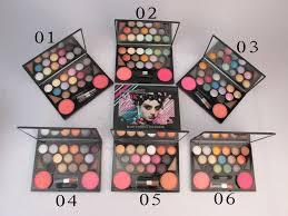 mac kit blush eyebrow eye shadow