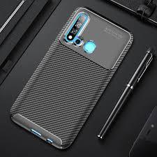 Phone Case for Huawei P20 Lite <b>2019</b> Case <b>Carbon Fiber</b> Soft ...