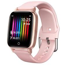 Sedentary Reminder <b>Smart Watch</b> With Charger <b>Body Temperature</b> ...