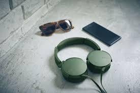 <b>Наушники Sony XB-550</b>, <b>зеленые</b> (Sony 7527.90) | Купить в ...