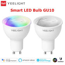 <b>Yeelight</b> GU10 Dimmable/Colorful Smart LED Bulb <b>AC</b> 220-<b>240V</b> ...