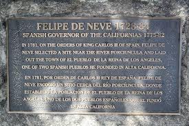 「1781 spanish Felipe de Neve」の画像検索結果