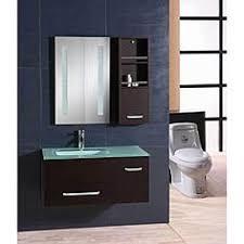 element contemporary bathroom vanity set: design element milan modern wall mount single vanity set shopping the best deals on bathroom vanities