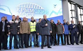 Crimean Bridge opened to railway <b>traffic</b> • President of Russia