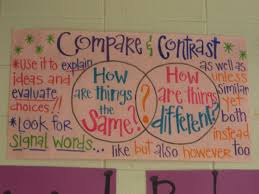 1000 ideas about compare and contrast student compare and contrast