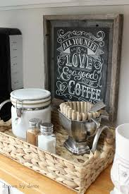 coffee stations coffee and kitchens on pinterest unique diy coffee station
