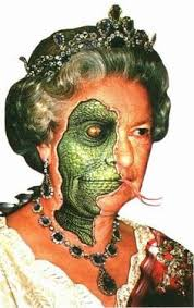 Image result for reptilian queen elizabeth