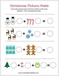 Math worksheets, Grade 1 math worksheets and Thanksgiving math ...Free Christmas Themed Picture Math Worksheet - Love Note Printables -