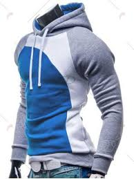 <b>IZZUMI</b> Paneled Raglan Sleeve Drawstring Hoodie | <b>Mens</b> ...
