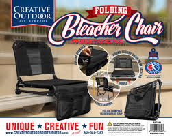 Creative Outdoor 2 in 1 Bleacher Folding Chair ... - King Soopers