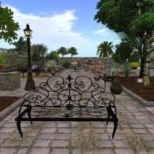 black wrought iron bench de97fbcd84d40f372839c950837f4770 black iron outdoor furniture